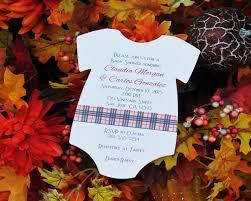 burberry baby shower invitation rsvp custom creations