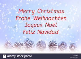 merry christmas u0027 written english spanish german french
