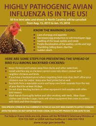 north carolina braces for avian flu carolina country