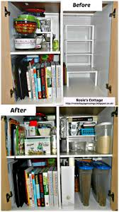 Ikea Kitchen Cabinet Hacks Rosie U0027s Cottage Rosie U0027s Kitchen Cabinet Hack U0026 Re Organization