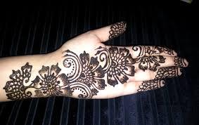 henna design arabic style arabic floral henna simple flowers fusion style mehndi design