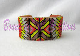 cuff bracelet tutorials images How to make beaded cuffs 9 tutorials to try jpg