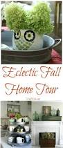 eclectically fall home tours