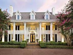 Southern Style Homes by Greek Revival Architecture Treadwell Popkins House Ann Arbor