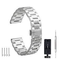 solid stainless steel bracelet images 24mm 22mm 18mm watch band pluwatch quick release premium solid jpg