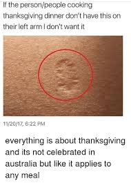 if the personpeople cooking thanksgiving dinner don t this on