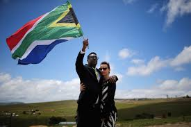 Former Flag Of South Africa Nelson Mandela Laid To Rest As South Africa Says Goodbye To Its