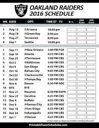best 25 oakland raiders football schedule ideas on