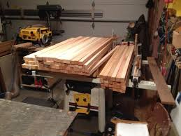 Cedar Table Top by Western Red Cedar