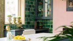 brass pot filler wall mount bar faucet english country kitchen