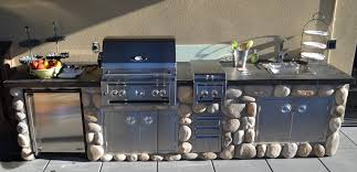 Stainless Steel Doors Outdoor Kitchens - luxury outdoor kitchens patio traditional with built in outdoor