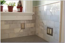 backsplash subway tile home depot kitchen accent backsplash tile