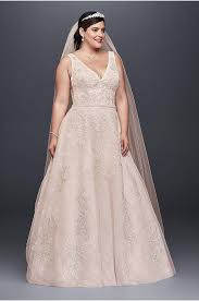 wedding dress not white plus size wedding dresses bridal gowns david s bridal