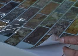 self adhesive kitchen backsplash kitchen interior self adhesive backsplash wall tiles tiling a