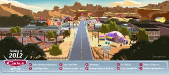 Disney California Adventure Map Insights And Sounds April 2012
