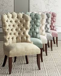 Acrylic Dining Chair Dining Chairs Leather U0026 Acrylic Dining Chairs At Neiman Marcus
