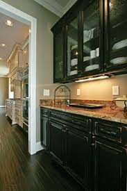grey glazed cabinets for the home pinterest gray cabinets