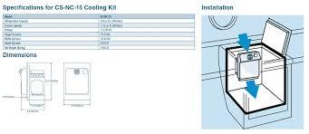 buy dometic coolmatic cooling kit csnc15 in canada binnacle com