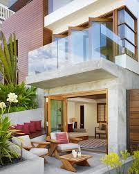 small home design www ideas com furniture modern home design with small terrace using brown wood