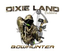 dixie land outdoors bowhunting shirt reaper compound bow archery