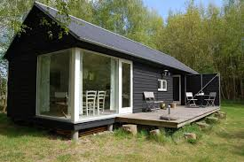 small vacation home plans the længehuset a modular vacation house from denmark with 2