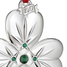 waterford shamrock ornament 2017 silver superstore