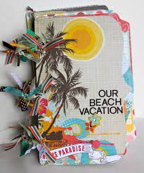 vacation photo albums artsy albums mini album and page layout kits and custom designed