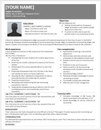 Accountant Resume Samples by General Ledger Accountant Resumes For Ms Word Resume Templates
