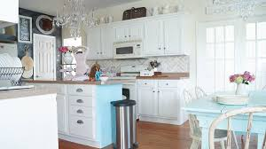 Chalk Painted Kitchen Cabinets Never Again White Lace Cottage - White chalk paint kitchen cabinets