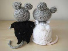 wedding gift knitting patterns wedding mice and groom knitting patterns knitting