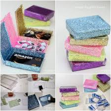christmas gift card boxes upcycled glitter box 24 and clever ways to give a gift card