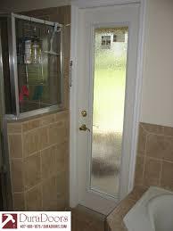 glass door film privacy bathroom door with odl privacy rain glass duradoors