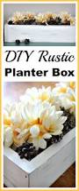 429388 best diy rustic planter box make an easy and inexpensive diy flower box easy diy home decor