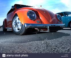 volkswagen modified orange vw volkswagen bug beetle engine lowered modified pimped