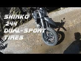 17 Inch Dual Sport Motorcycle Tires Shinko 244 Dual Sport Tires Kawasaki Klx250sf Gopro Hero2 Youtube