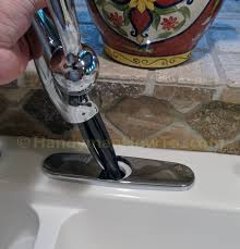 how to install a delta single handle kitchen faucet