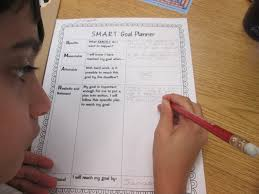 Smart Goals Worksheets Setting Almost Smart Goals With My Students Scholastic