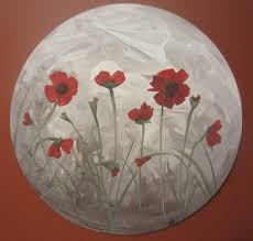 how to paint poppies part one the background busted button