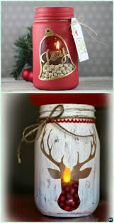 how to make mason jar lights with christmas lights diy stenciled mason jar candle holder christmas lights instruction