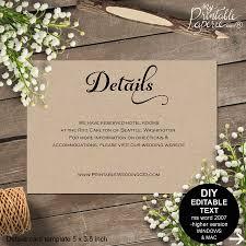 Carlton Cards Wedding Invitations Details Card Wedding Details Card Wedding Details Wedding