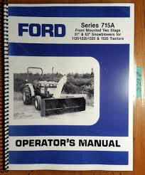 ford series 715a two 2 stage 51