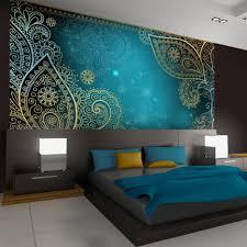 wandgestaltung orientalisch schlafzimmer ideen wandgestaltung drei farben modell rodmansc