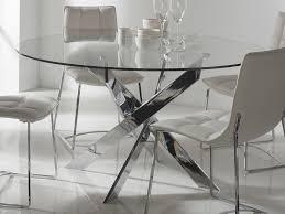 table en verre cuisine verre de table awesome table uuportouu plateau en verre et blanc