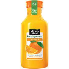 minute maid pure squeezed 100 orange juice no pulp 59 fl oz