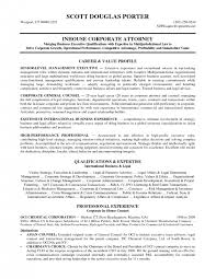 In House Counsel Resume Examples by Cover Letter Associate Attorney Resume Litigation Associate