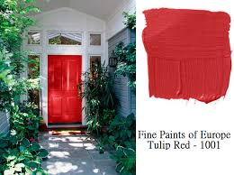 colorful designer front doors and paint samples simplified bee