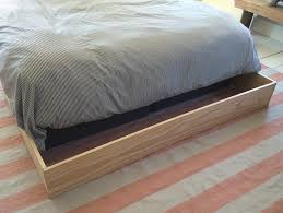 How To Make A Cheap Platform Bed Frame by Diy Faux Bed Frame U2013 Design Sponge