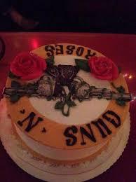custom guns n u0027roses cake based on red velvet cake picture of