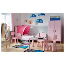busunge extendable bed light pink 80x200 cm ikea