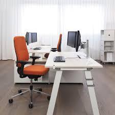 workstation desk wooden steel laminate frameone bench